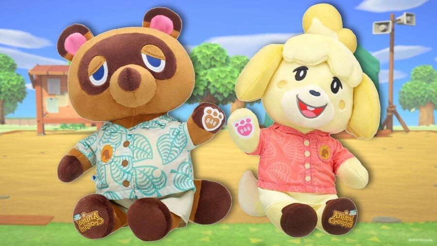 Animal Crossing Build A Bear