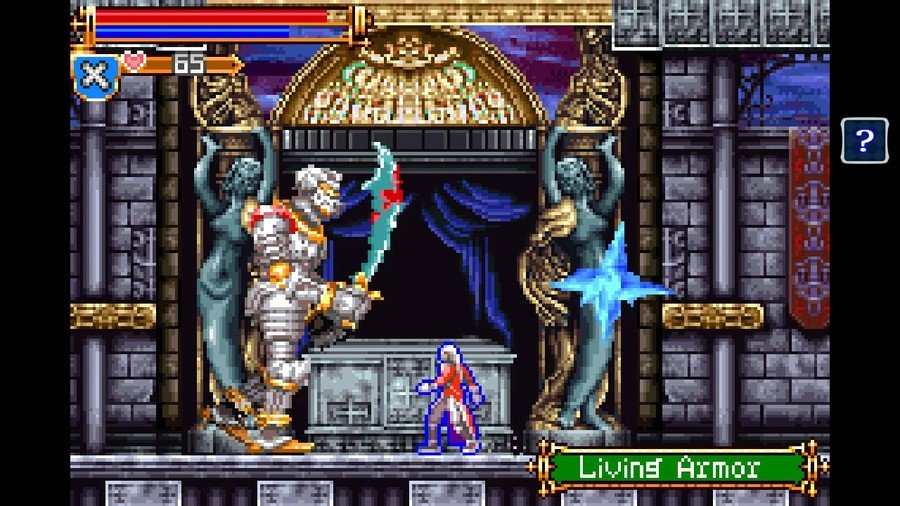Castlevania Advance Collection is now available on Nintendo Switch