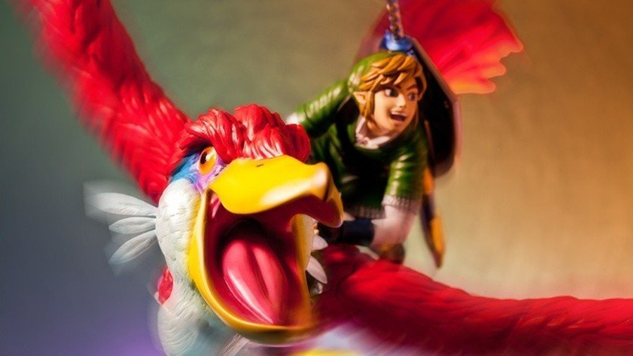 Link on Loftwing figure