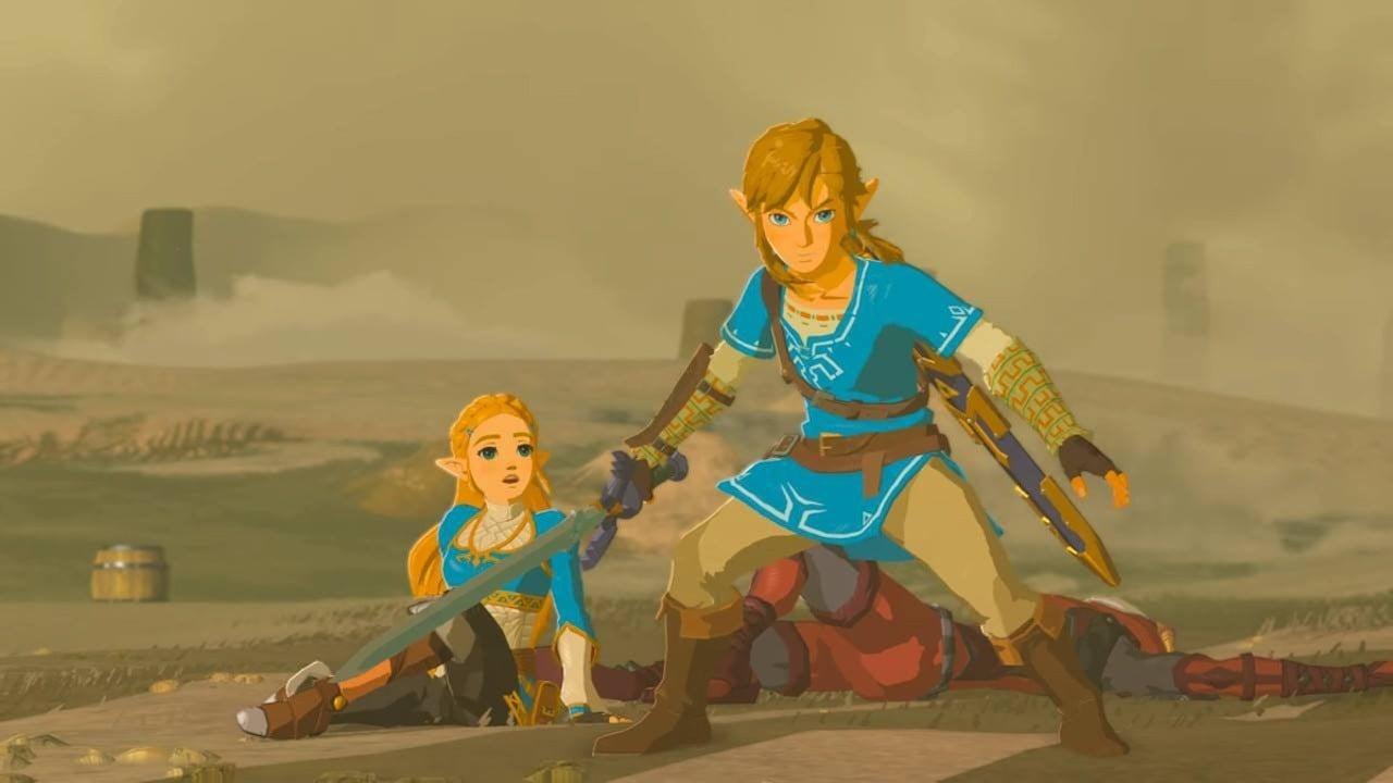 New Zelda: Breath Of The Wild Glitch Sends Hyrule Into Chaos