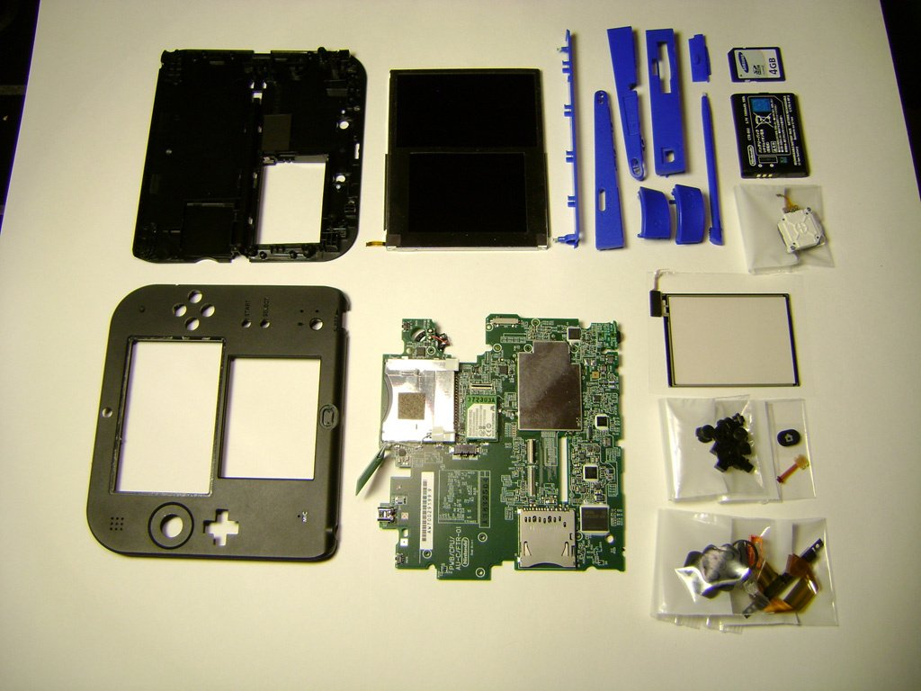 3Ds Simple Porn Model hardware: here's what the nintendo 2ds looks like with its