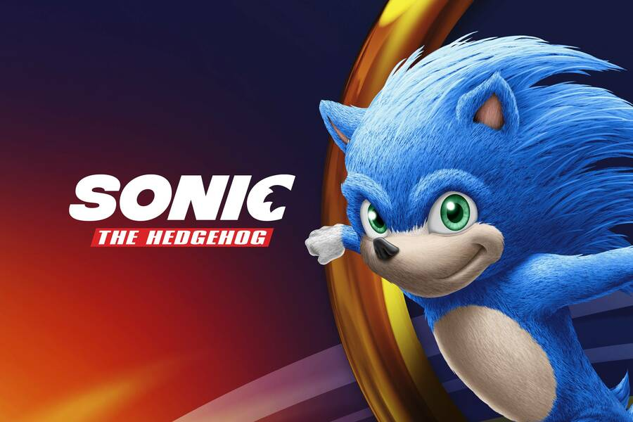 How Sonic is set to look in the movie