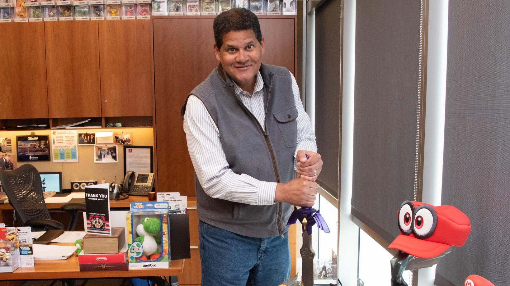 Reggie Fils-Aimé To Aid Mentoring Of Underprivileged Students With New York Organisation