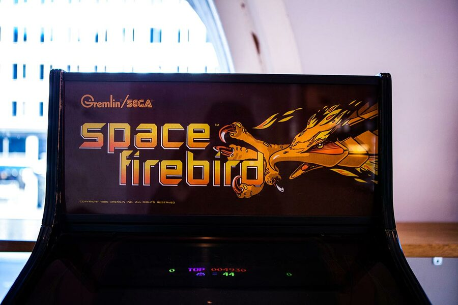 Nintendo's Space Firebird was distributed in North America by Sega