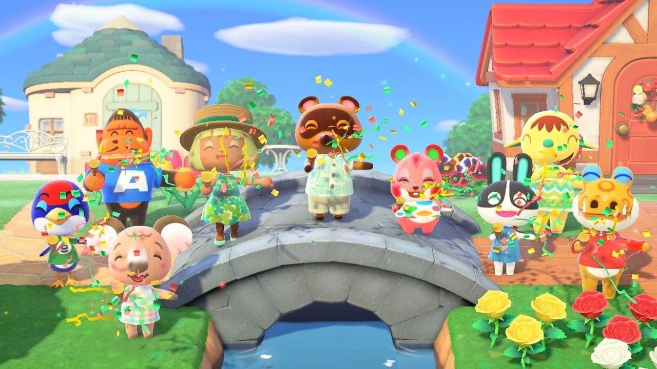 Gráficos del Reino Unido: Animal Crossing: New Horizons absolutamente lo saca del parque 1