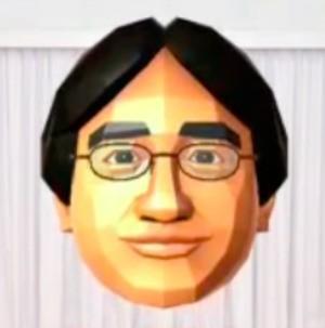 It's-a me-ah... Iwata!