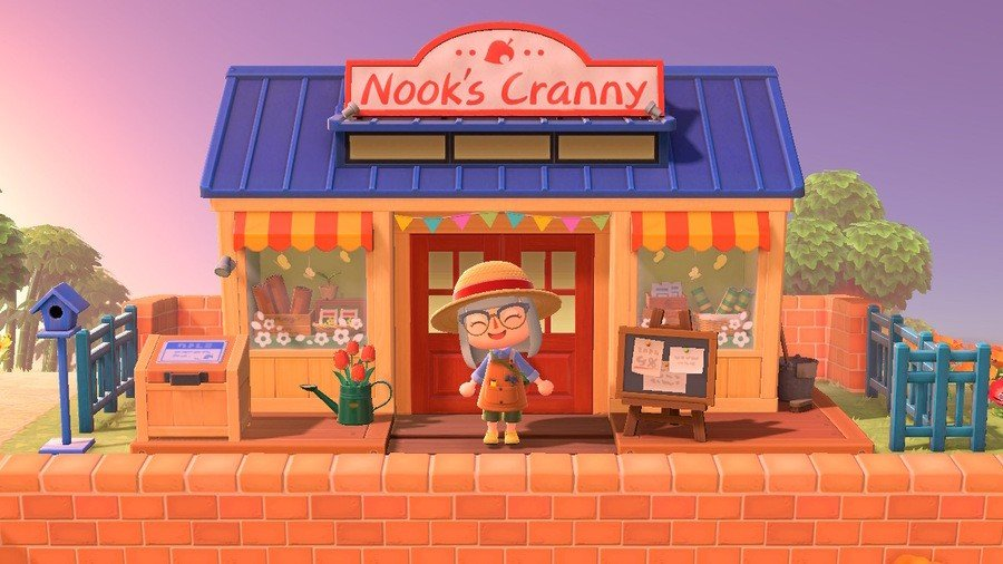Upgraded Nook's Cranny shop in Animal Crossing: New Horizons