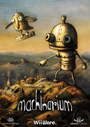 Machinarium is coming to WiiWare. This is good news.