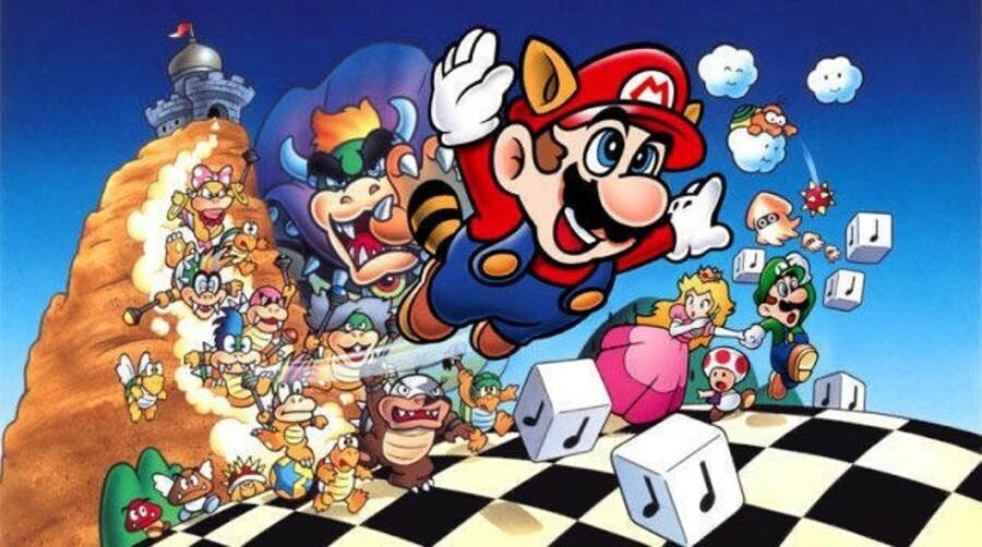 Mario! Mario! Mario!