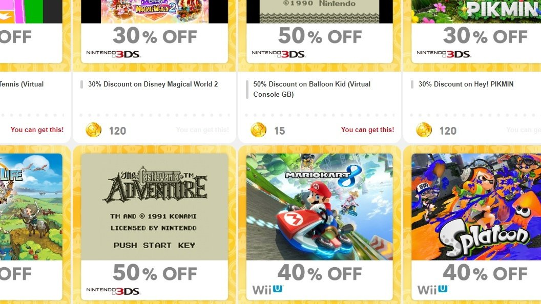 You Can No Longer Get 3DS And Wii U Discounts From My Nintendo In Japan