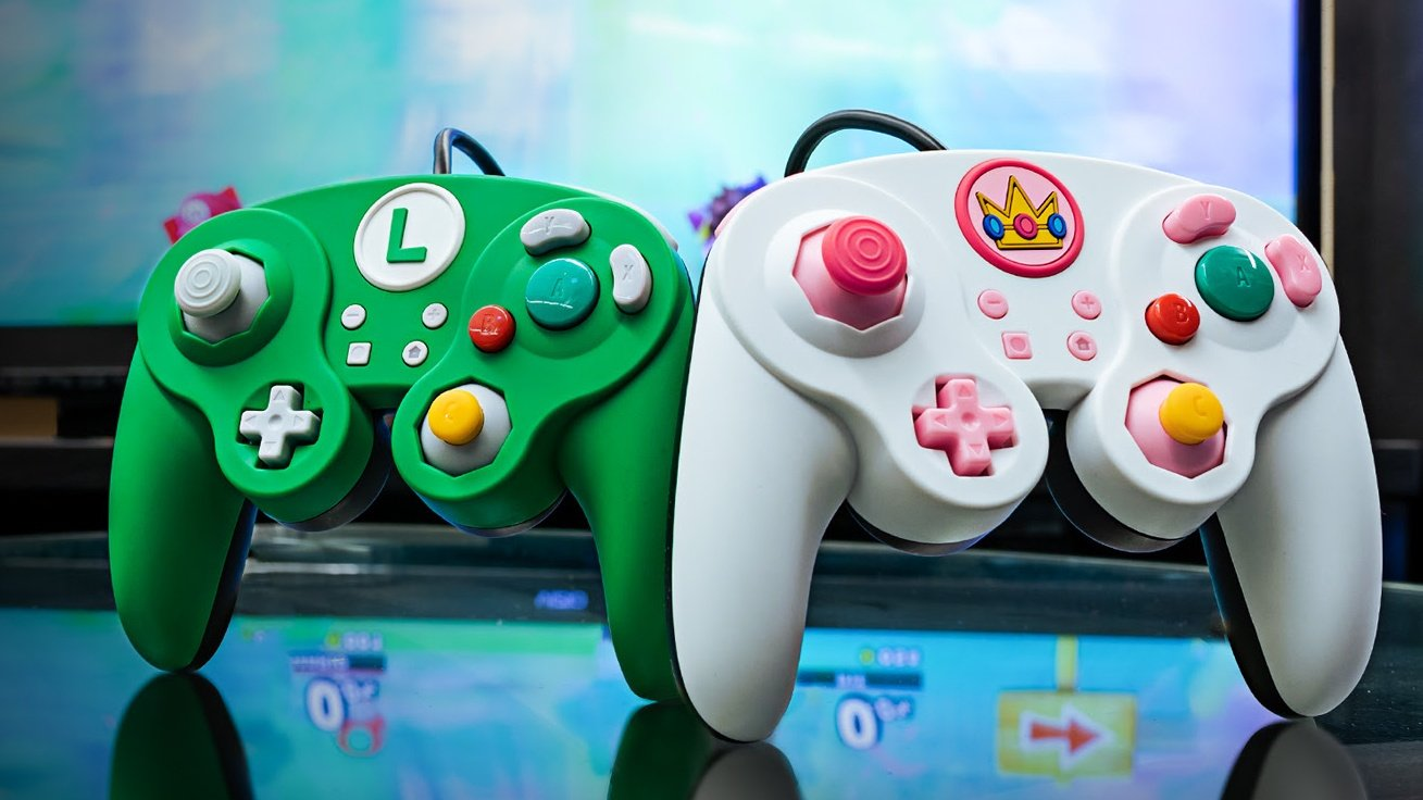 PDP Launches Luigi And Peach GameCube Controllers For Nintendo