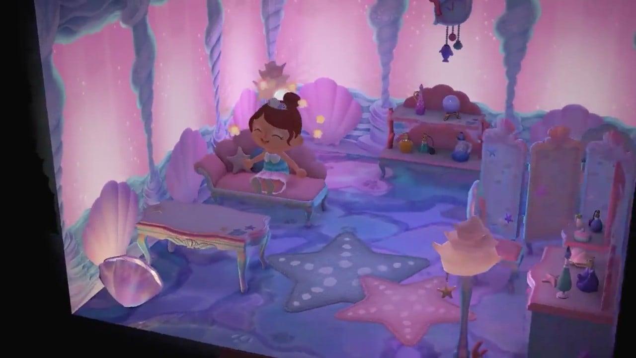 animal crossing  horizons mermaid furniture