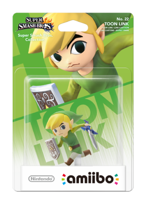 Toon Link amiibo Pack