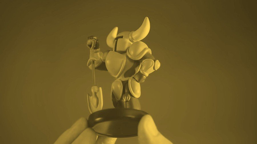 There's A Gold Shovel Knight amiibo, And Fans Are Already
