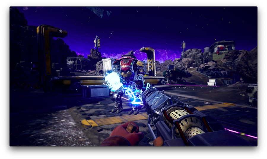 PD The Outer Worlds Switch Weapon Gameplay