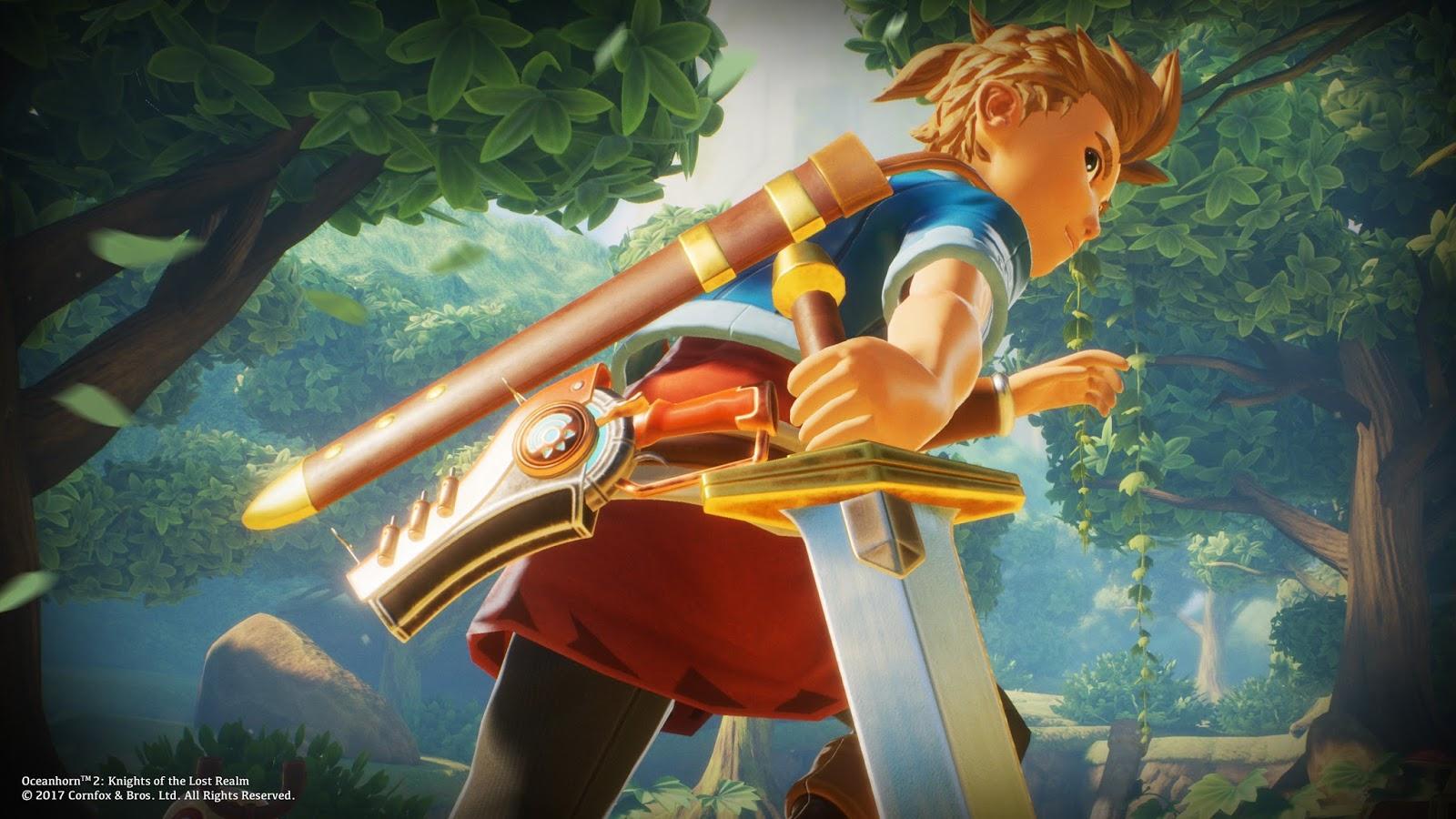 Zelda-Esque Oceanhorn 2 traz sua aventura 'épica' de mundo aberto para mudar este mês 1