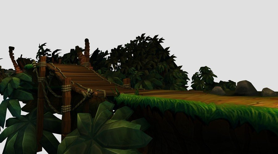 Jungle Hijinxs from Donkey Kong Country Returns (experimental)