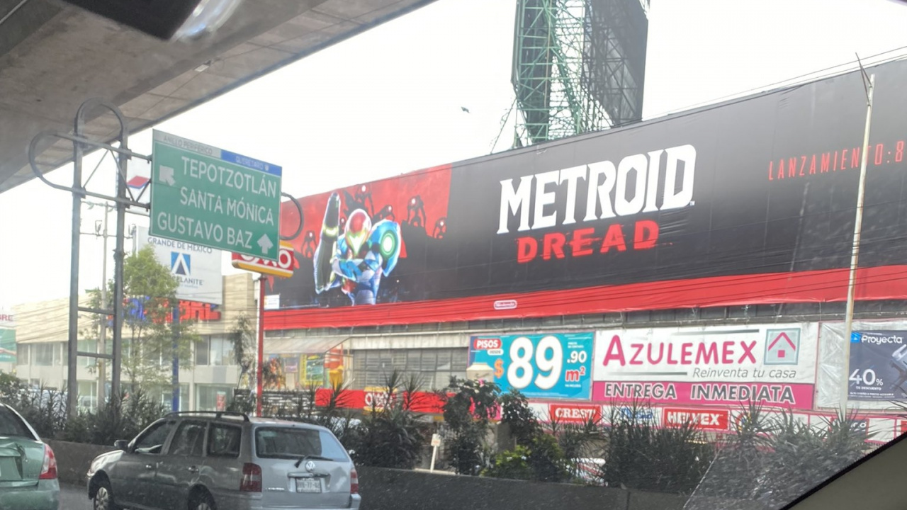 Nintendo's Global Marketing Campaign For Metroid Dread Continues