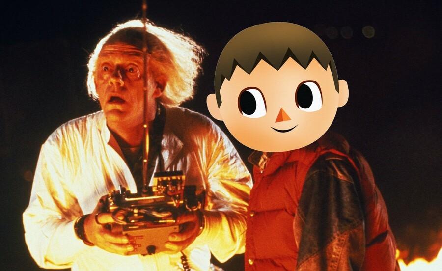 Animal Crossing New Horizons Time Travel