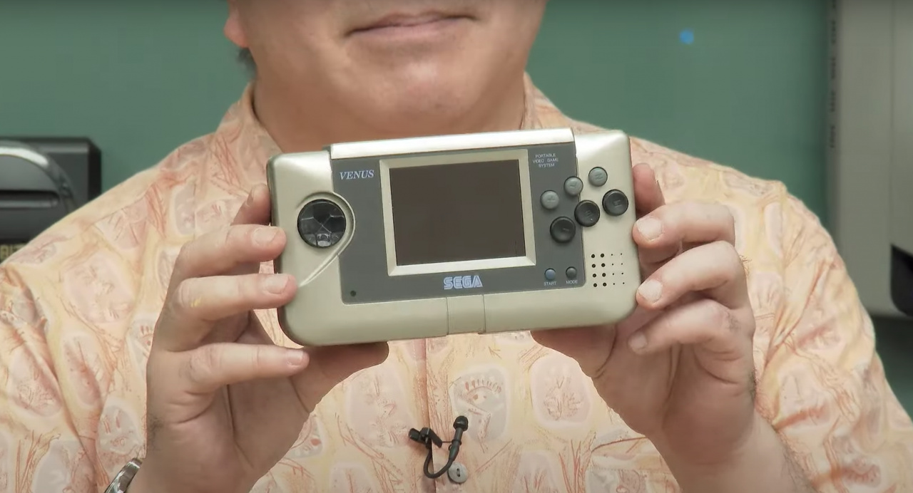 Sega Just Showed Off A Prototype Handheld For The First Time Ever
