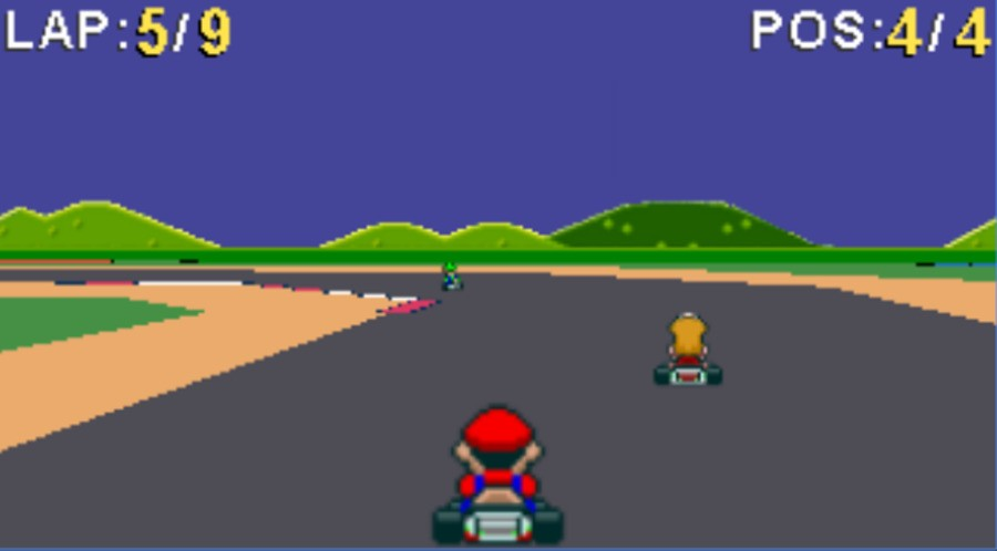 Super Mario Kart HTML