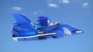 Sonic takes off