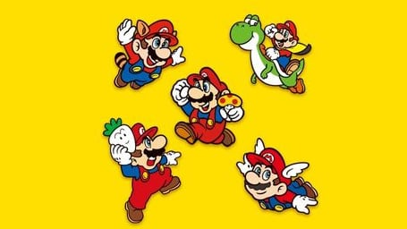 Did You Miss Out On The Super Mario Anniversary Pin Set? You're Not Alone