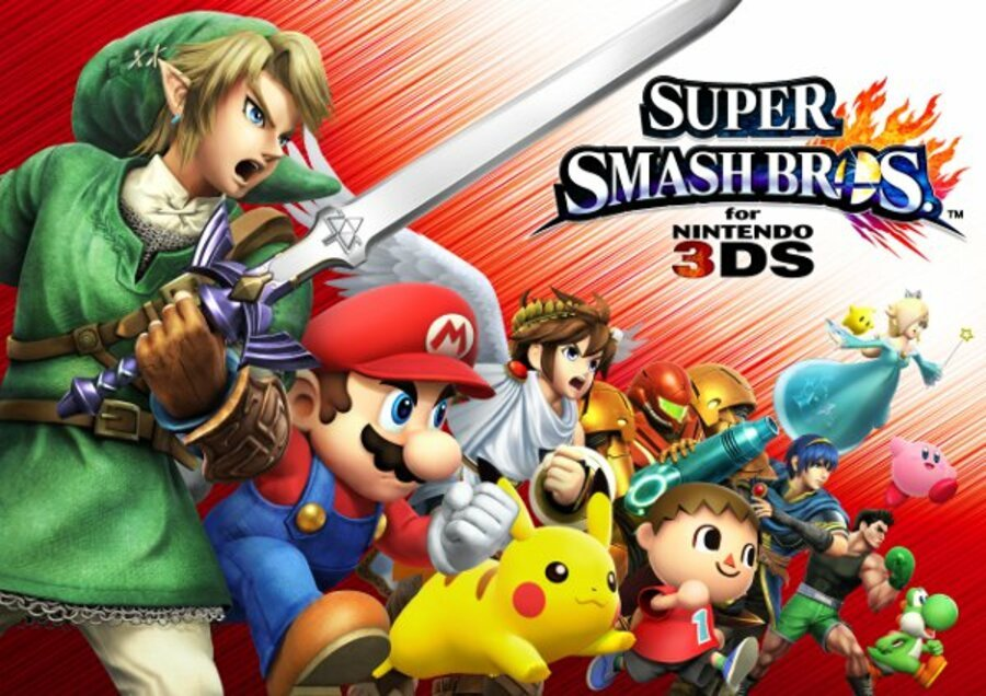 N3 DS Super Smash Bros Illustration02