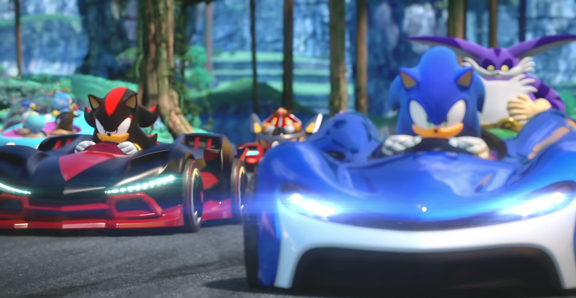 Sega Shares Wisp Circuit Song From Team Sonic Racing