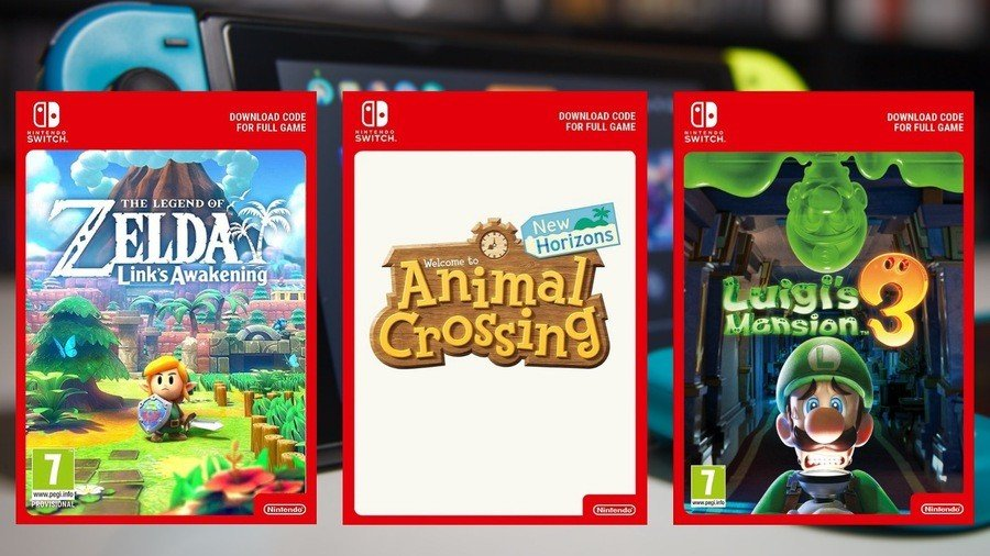Nintendo Switch Digital Download Codes