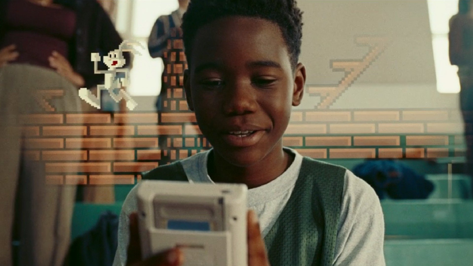 The real hero of this movie is the kid who gave a friend an expensive (albeit second-hand) console
