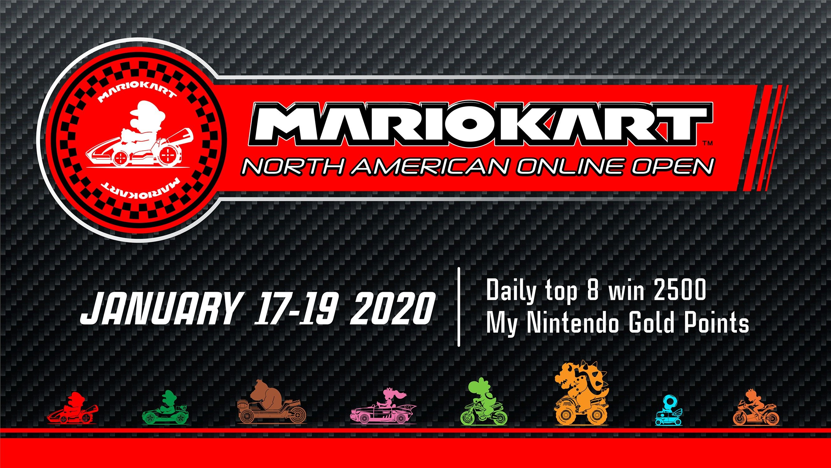 On Your Marks For The Mario Kart North American Online Open, Starting Today