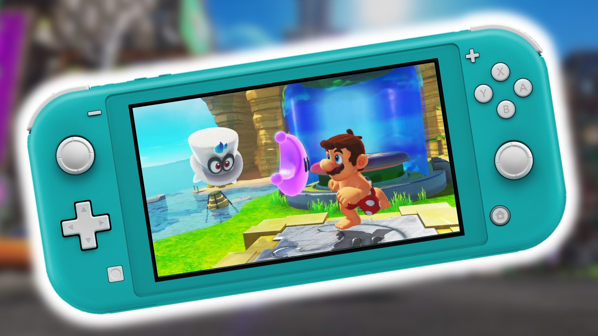Super Mario Odyssey Has A Workaround For Switch Lite S Lack