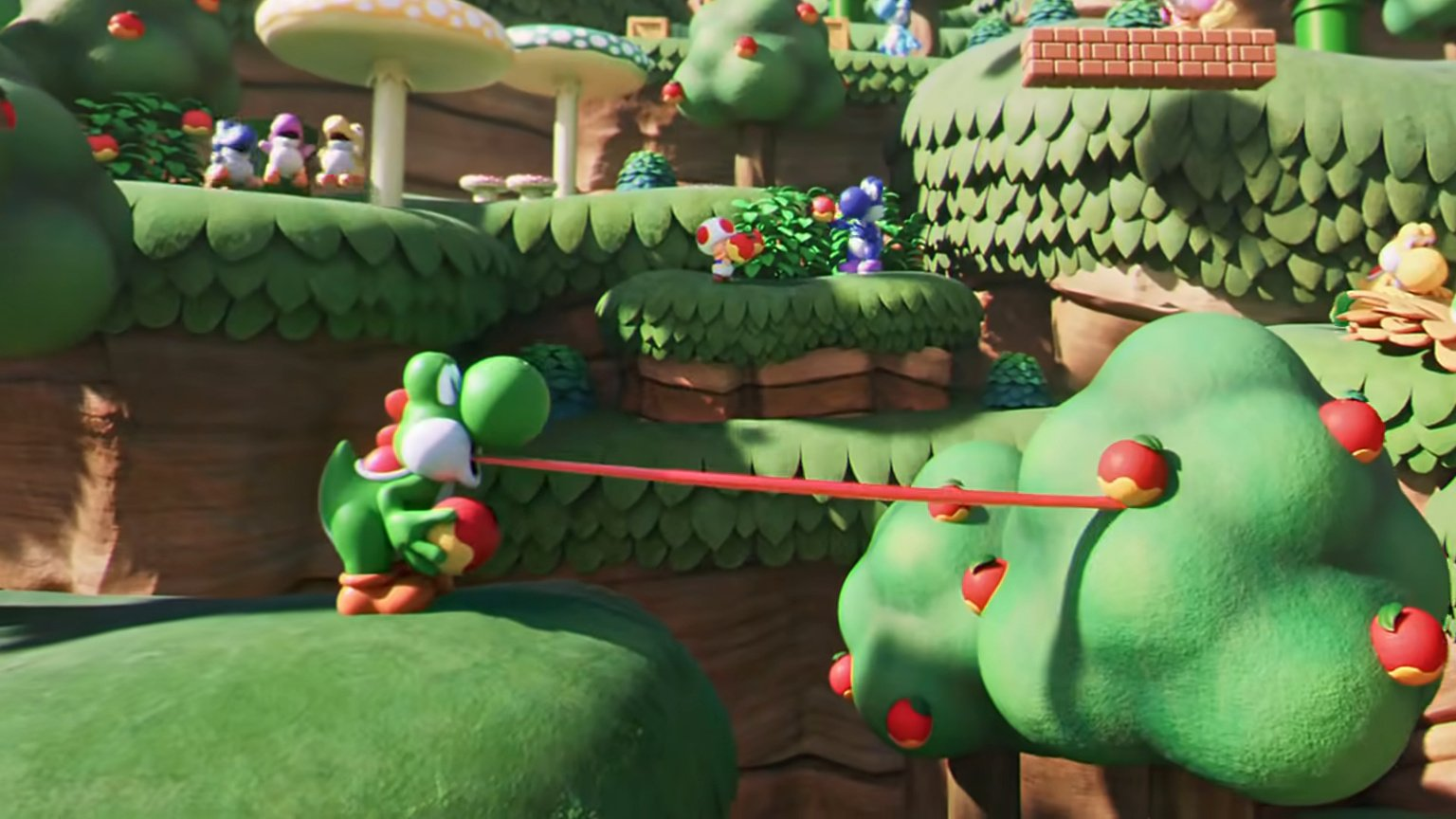 New Video Shows Yoshi In Action At Super Nintendo World Nintendo Life