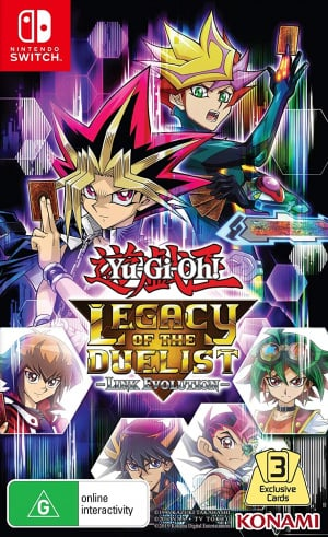 Yu-Gi-Oh! Legacy of the Duelist: Link Evolution (Nintendo