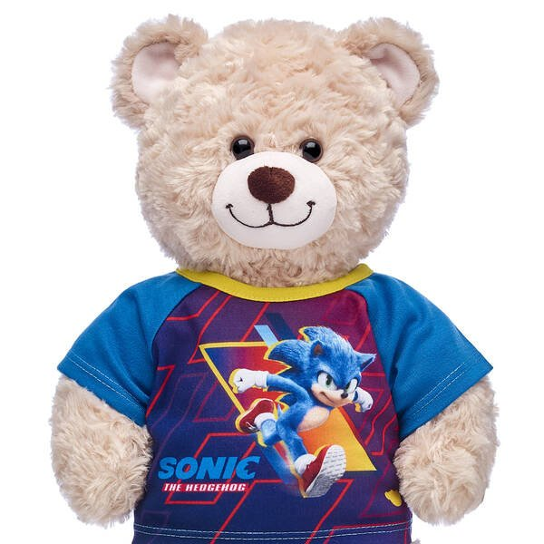 Build A Bear Officially Reveals New Plush Toy Based On The Sonic