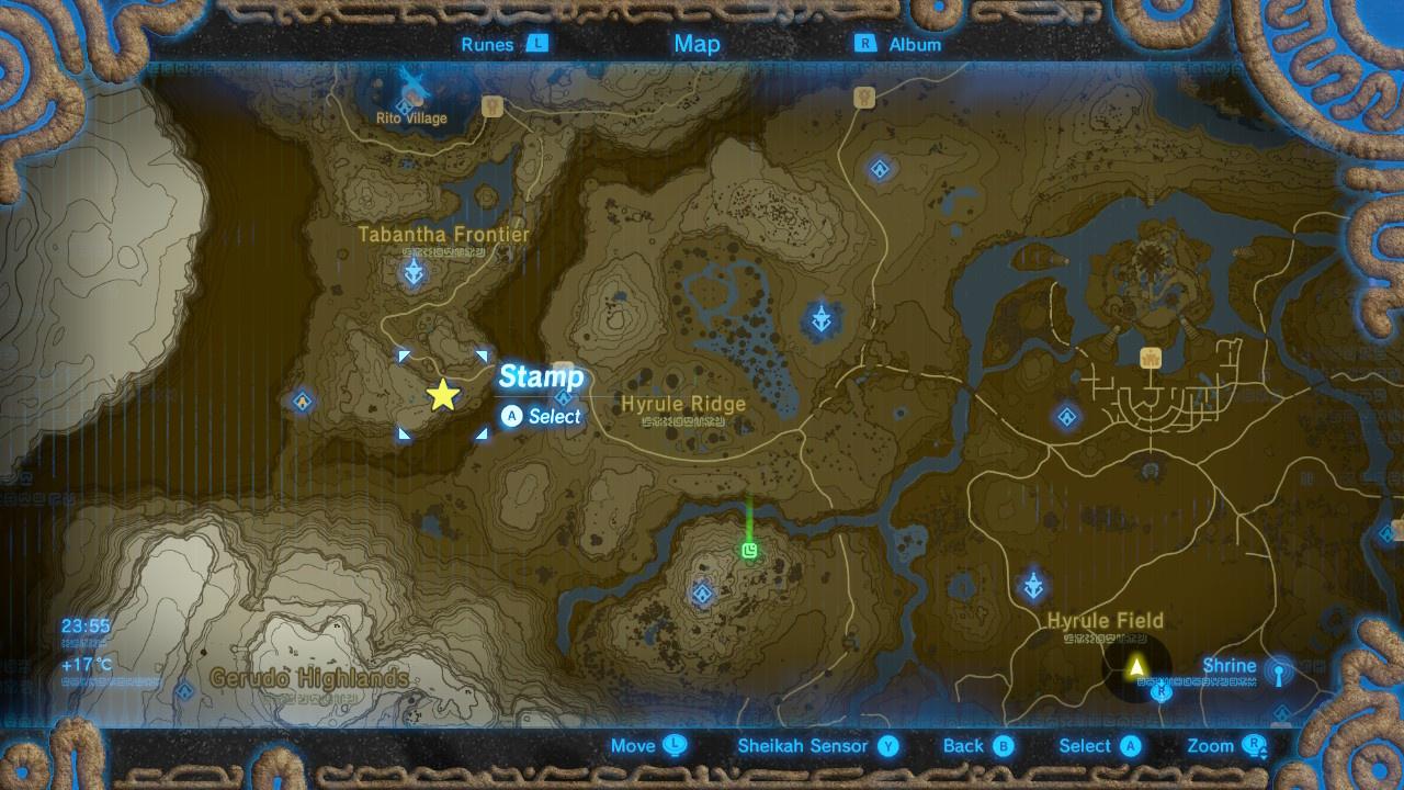 Zelda Breath Of The Wild All Captured Memory Locations Nintendo Life