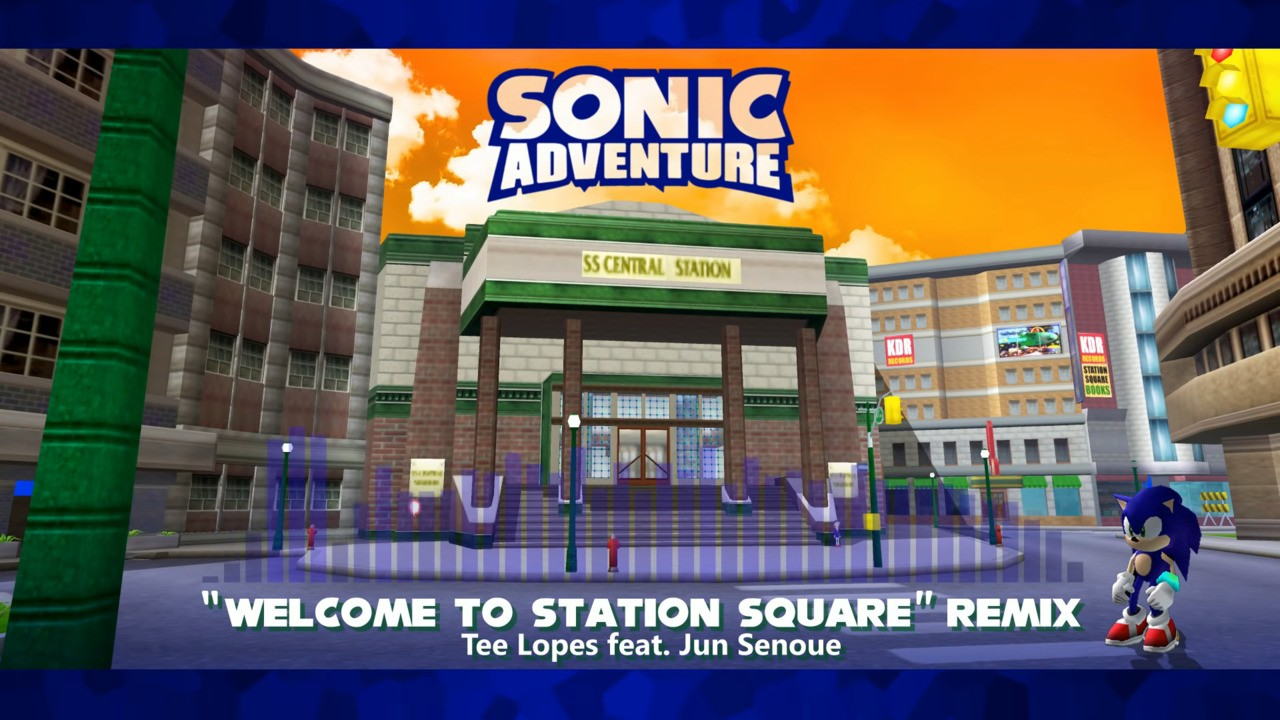 """Random: This Official Sonic Adventure """"Welcome To Station Square"""" Remix Has Sent Fans Into A Spin"""