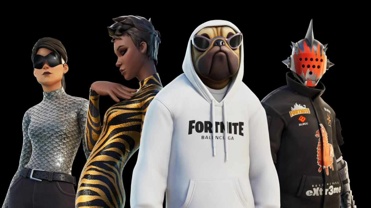 Fortnite's Newest Collaboration Is With Fancy Trend Home Balenciaga