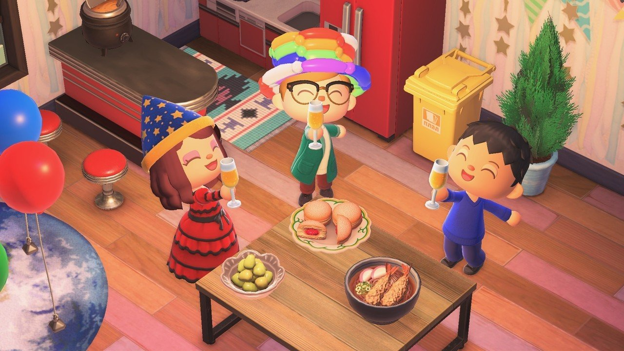 Celebrate New Year In Animal Crossing With Some Yummy Seasonal Food Items