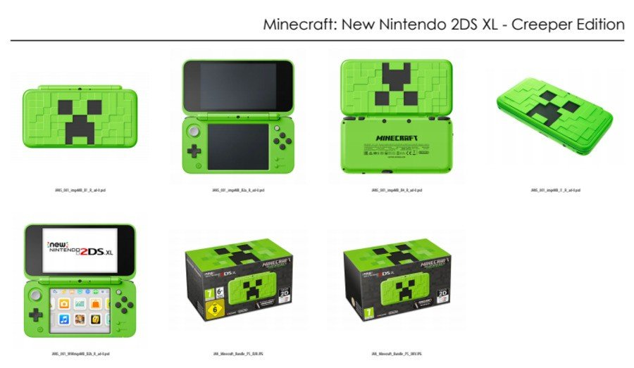 Looks Like The Minecraft New Nintendo DS Creeper Edition Is Coming - Minecraft spiele fur nintendo ds