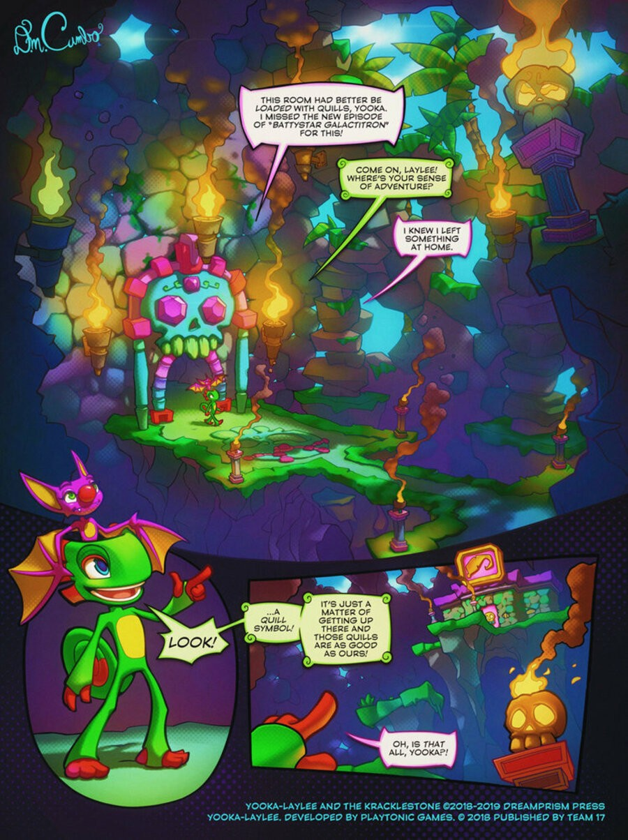 The Next Yooka Laylee Adventure Will Be A Crowd Funded Graphic Novel Ps4 You Backing On Kickstarter Have Played Video Game Tell Us In Comments