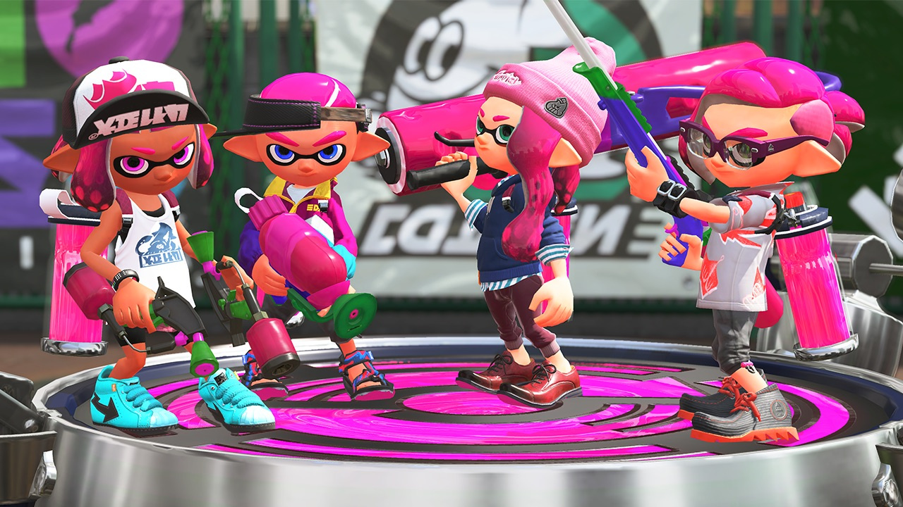 7 Things You Didnt Know Could Do With Nintendo Switch Online 2 Way Animation Splatoon