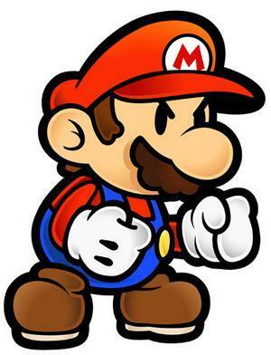 Mario doesn't like losses