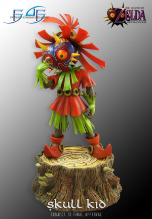 Skull Kid Loves The Mask