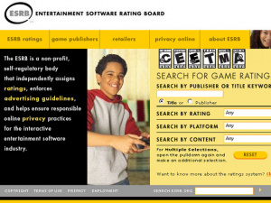 ESRB Website