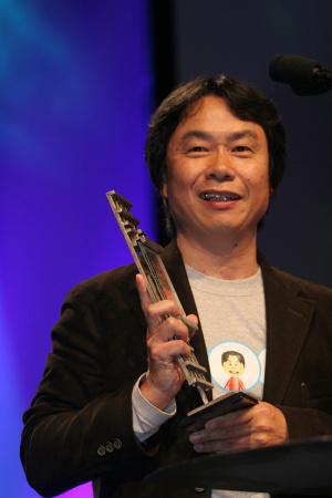 Shigeru Miyamoto, the master.