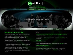 E for All Website