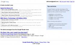 Google Reader, Wii Style