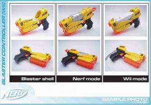 The Wii Nerf Blaster